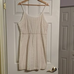 Merona Cream Sundress